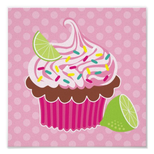 Whipped Cream Cupcake Canvas Print