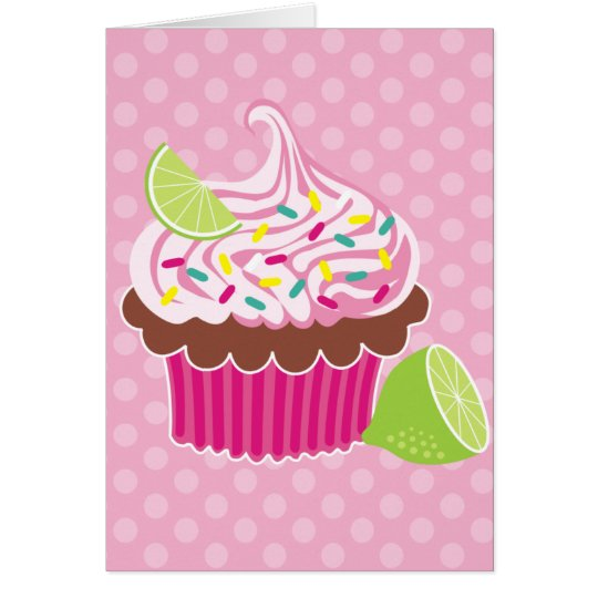 Whipped Cream Cupcake Card