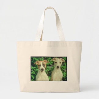 Whippet Tote Bags