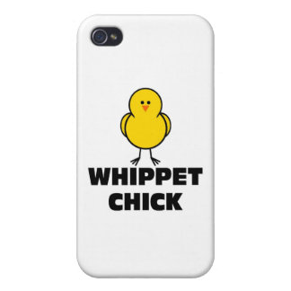 Whippet Chick iPhone 4 Covers