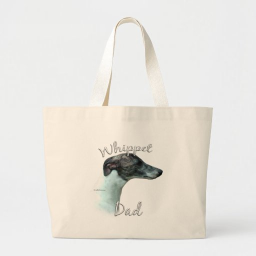 Whippet Dad 2 Canvas Bag
