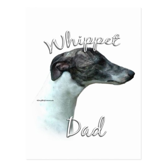 Whippet Dad 2 Postcard