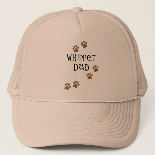 Whippet Dad for Whippet Dog Dads Trucker Hat