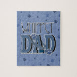 Whippet DAD Jigsaw Puzzle