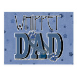 Whippet DAD Postcards