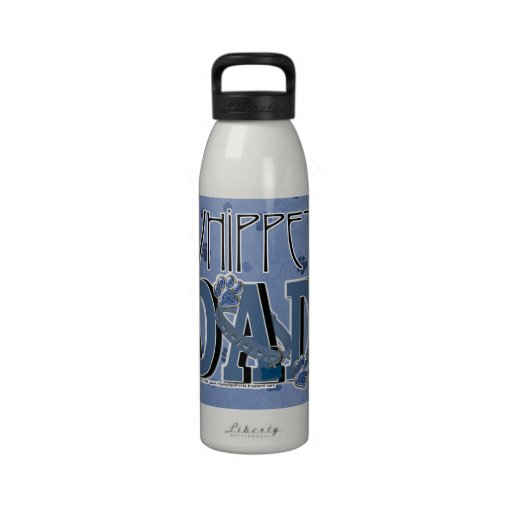 Whippet DAD Water Bottle