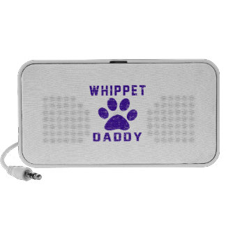 Whippet Daddy Gifts Designs Speaker