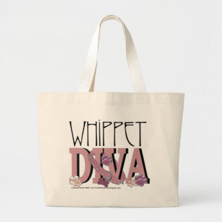 Whippet DIVA Tote Bags