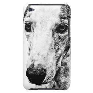 Whippet dog barely there iPod covers