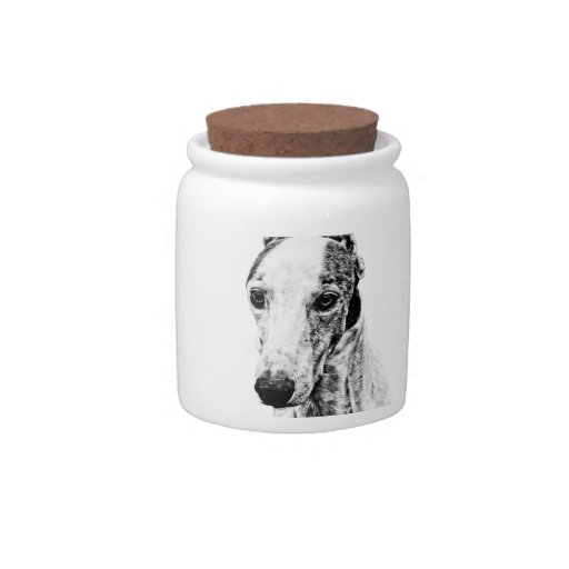 Whippet dog candy dishes