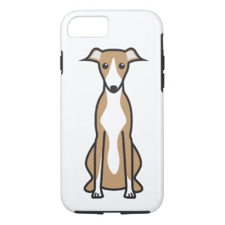 Whippet Dog Cartoon iPhone 7 Case