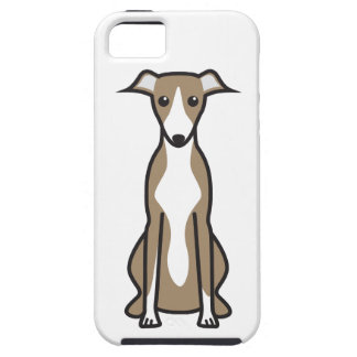 Whippet Dog Cartoon iPhone SE/5/5s Case