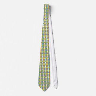 Whippet Dog Cartoon Pop-Art Neck Tie