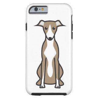 Whippet Dog Cartoon Tough iPhone 6 Case