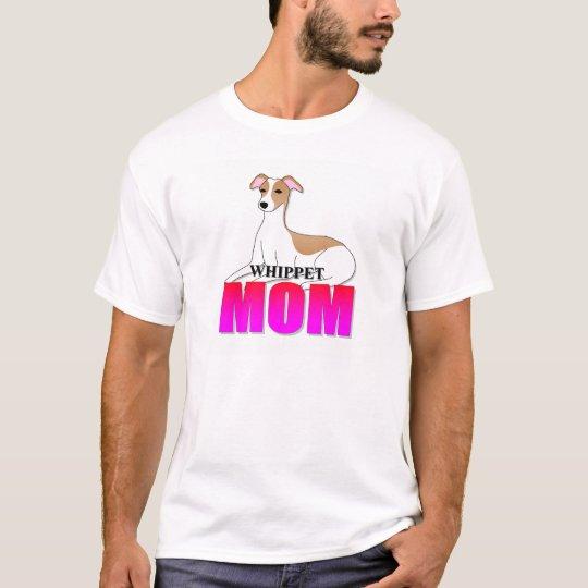 Whippet Dog Mom T-Shirt