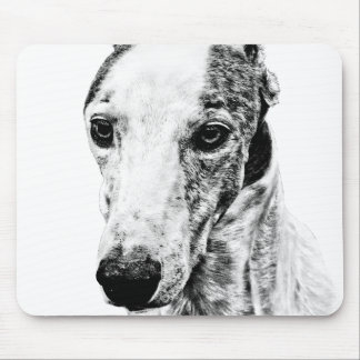 Whippet dog mouse pad