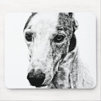 Whippet dog mousepad