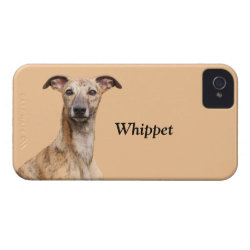 Case-Mate iPhone 4 Barely There Universal Case with Whippet Phone Cases design