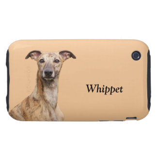 Whippet dog photo custom iphone 3G case mate, gift Tough iPhone 3 Covers