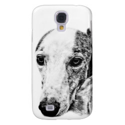 Case-Mate Barely There Samsung Galaxy S4 Case with Whippet Phone Cases design