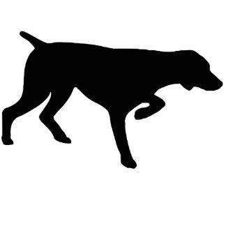 Whippet dog statuette