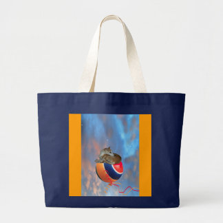 Whippet  DreamLand - Totebag Large Tote Bag