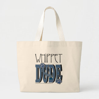 Whippet DUDE Canvas Bags