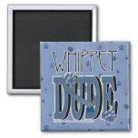 Whippet DUDE Refrigerator Magnet