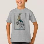 Whippet en una bici playera