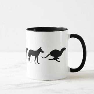 Whippet Evolution Mug
