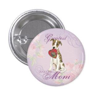 Whippet Heart Mom Button