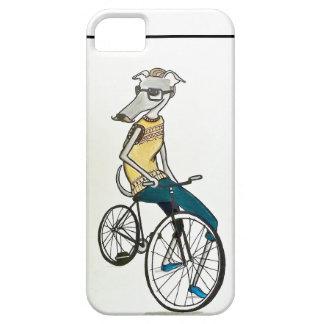 Whippet hipster (bike) iPhone SE/5/5s case