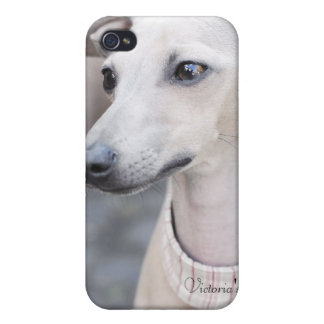 Whippet lindo iPhone 4 carcasa