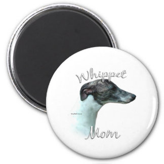 Whippet Mom 2 2 Inch Round Magnet