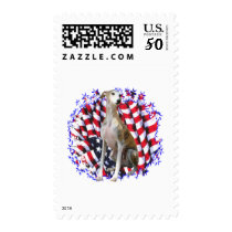 Whippet Patriot Postage