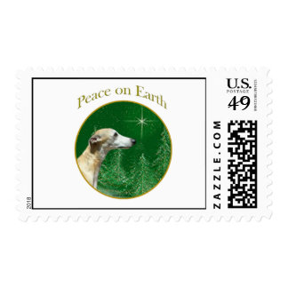 Whippet Peace Stamp