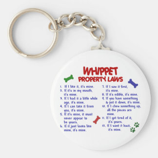 WHIPPET Property Laws 2 Keychain