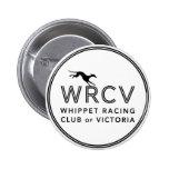 Whippet que compite con al club de Victoria Pin
