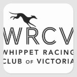 Whippet Racing Club of Victoria Square Sticker