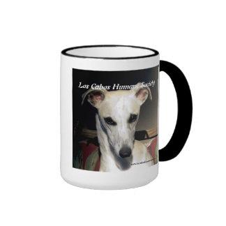 Whippet Ringer Coffee Mug