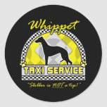 Whippet Taxi Service Stickers