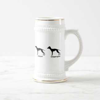 Whippet, Whippet Good Funny Dog Breed Beer Stein
