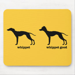 Whippet, Whippet Good Funny Dog Breed Mouse Pad