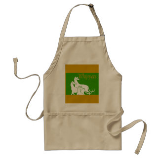 Whippets Adult Apron