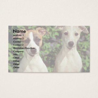 Whippets Business Card