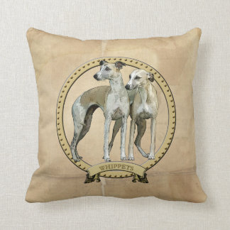 Whippets couples pillow