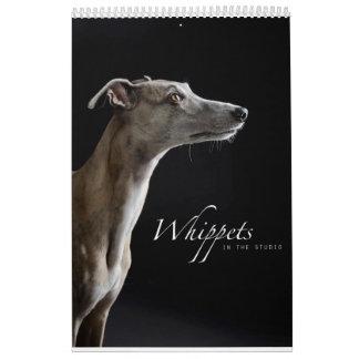 Whippets in the Studio Calendar