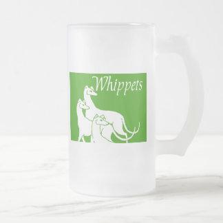 Whippets Jarra De Cerveza Esmerilada