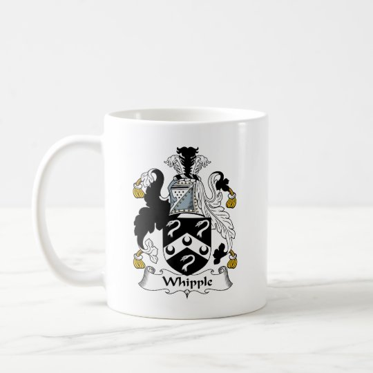 Whipple Family Crest Coffee Mug