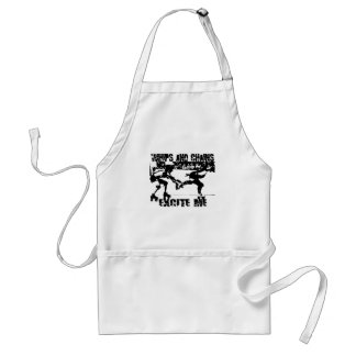 whips and chains excite me apron